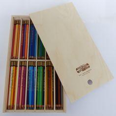 72 Künstler Farbstifte KOH-I-NOOR Polycolor im praktischen Holzkasten in Möbel & Wohnen, Hobby & Künstlerbedarf, Farben & Malzubehör | eBay
