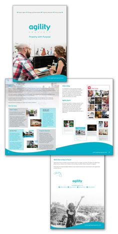 Business Media Kit, Brochure,