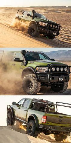 Ram 2500 Heavy Duty Becomes Ultimate Offroad Warrior. The 2020 Ram HD-based AEV Prospector XL has been priced. Ram Trucks, Dodge Trucks, Jeep Truck, Diesel Trucks, Cool Trucks, Pickup Trucks, American Expedition Vehicles, Kombi Motorhome, Overland Truck