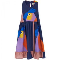 Stella McCartney Kids Bird Print Dress