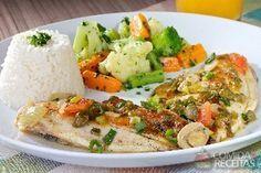 Receita de Tilápia à primavera em receitas de peixes, veja essa e outras receitas aqui!