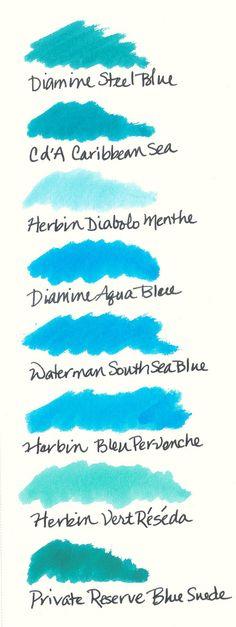 Choose a blue ...