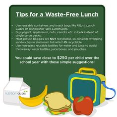 Save $250 per child with these tips to waste (and spend!) less on lunch