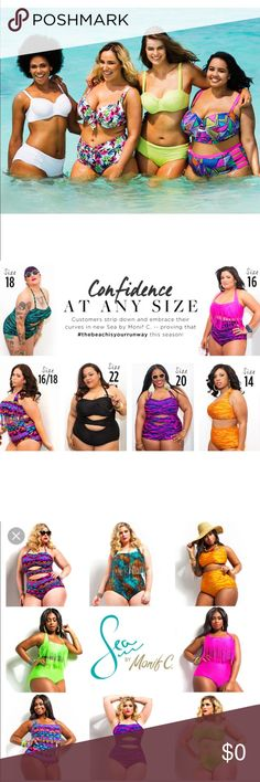 👙Plus Size Swimwear👙 My loss is your gain! All of my swimwear is brand new with tags, mostly size 24W. Please keep in mind that most swimsuit runs small, so order a size up! Swim One Pieces