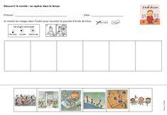 L'école de Léon fiche images séquentielles Grande Section, Conte, Kids Education, School, Nursery School, Back To School, Nursery Rhymes, Language, Early Education