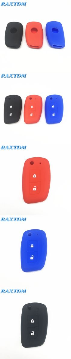 2 Buttons Silicone car key Cover For Nissan Qashqai X-trail Murano Maxima Altima Juke Geniss QUEST Livina Tiida key