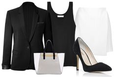 You don't need to look like a model or fashionista when going for an interview. Wear elegant outfit for your job interview and always keep elegance priority.