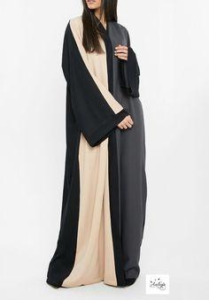 Image of Mina Abaya Pre-order Arabic Dress, Black Abaya, Mode Abaya, New Mode, Abaya Designs, Modest Wear, Islamic Clothing, Abaya Fashion, Jacket Dress