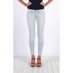 Henry & Belle Super Skinny Ankle ($158) ❤ liked on Polyvore featuring jeans, denim, skinny, sun bleached, women, cropped skinny jeans, cropped jeans, ankle length jeans, form fitting jeans and denim skinny jeans