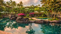 Grand Hyatt Kauai Resort and Spa Lower Pool, Koloa, Hawaii
