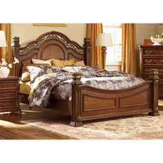 Liberty Messina Estates Poster Bed Set - Overstock™ Shopping - Great Deals on Beds