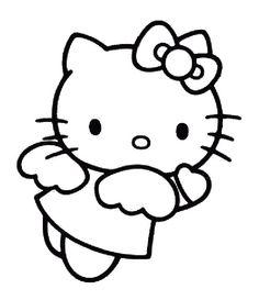 hello kitty coloring emo | Maria Lombardic