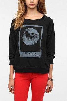 Corner Shop Spooky Sweatshirt  #UrbanOutfitters #HalloweenShop
