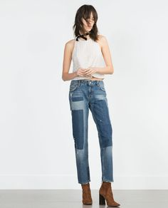 LACE TOP-Lace-Tops-WOMAN | ZARA United States