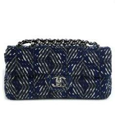 "Chanel Pre-Fall 2008 ""Timeless Classic"" patent goatskin bag"