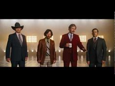 """""""I don't know how to put this but I'm kind of a big deal. People know me."""" Anchorman 2 - Official Teaser (HD)"""