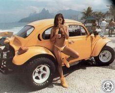 70's Baja Buggie & uh yellow shoes..