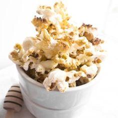Honey Whiskey Popcorn HealthyAperture.com