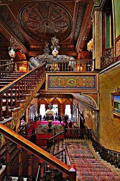 Beylerbeyi Palace. Üsküdar. Istanbul-Türkiye