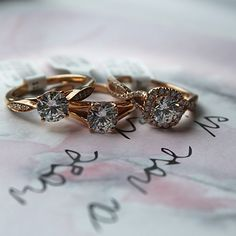 Do you love the unique warmth of rose gold? We've got a variety of beautiful styles to choose from!