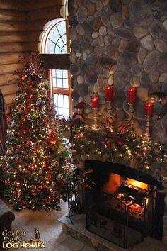 I looooove that fireplace!                                                                                                                                                                                 More