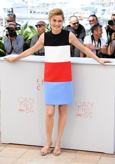 Elle Photocall - Anne Consigny