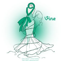Vine in Fashion by Neko-Vi.deviantart.com on @deviantART