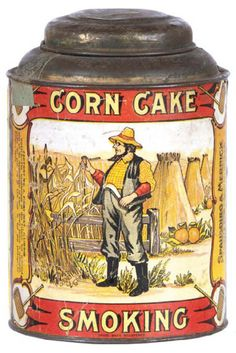 Corn Cake Tobacco Tin | Antique Advertising Value and Price Guide