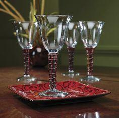 NEW Bali Goblet Set from Midnight Velvet. www.midnightvelvet.com