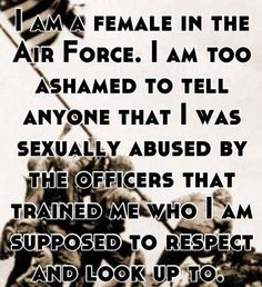 23 Harrowing Confessions From Survivors Of Military Sexual Assault