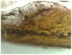 Cake of cooked pumpkin - Coc de carabassa cuita - no tot són postres... a la cuina