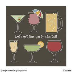 {Fun} Cocktails