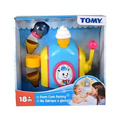Tomy Foam Cone Factory Toy Isia Dzido Twins 1st Birthday Gift Ideas