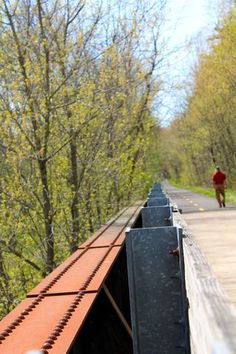 Where is your favorite bike trail in Ohio? Check out the Richland B & O Trail on the DiscoveringOhio Blog.