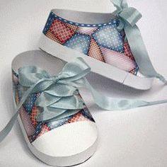 Template - Lo-Top Baby Sneakers-  OMG I'm sooooo making these!