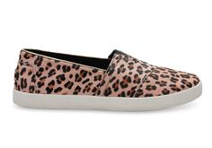 undefined Leopard Printed Calf Hair Women's Avalon Slip-Ons