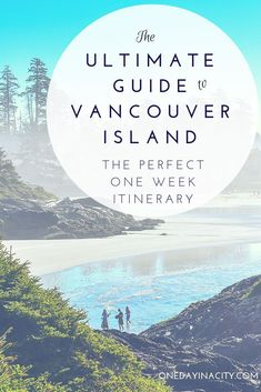 The ultimate guide to Vancouver Island in British Columbia, Canada. Details for the best one-week road trip around Vancouver Island with tips on the top things to see and do, including where to stay and eat in Tofino, Parksville, and Victoria. Cool Places To Visit, Places To Travel, Travel Destinations, Tonga, Quebec, Totems, Toronto, Vancouver Travel, Victoria Vancouver Island