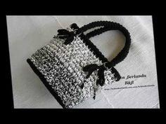 Bolso de Trapillo /Forma Corazón !! Efectos Surcos ¡¡ - Handbag of Heab Form - YouTube