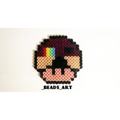 Instagram mushroom perler beads by _beads_art