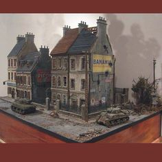 "1/35th ""Carentan"" PART1 by Peter Granton From: michtoy #scalemodel #diorama #hoby #modelismo #miniatura #miniature #maqueta #maquette #modelism #plastickits #usinadoskits #udk #plastimodelo #plasticmodel #modelisme"