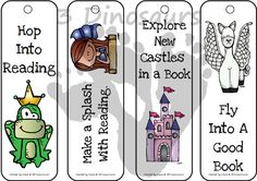 Free Medieval Themed Bookmarks - 12 different bookmarks for kids to use - 3Dinosaurs.com