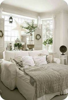 There's no better place to hunker down on a cold night than in a comfy cozy living room. Here are some cozy living room designs to help you achieve maximum hygge. Cozy Living Rooms, Home Living Room, Living Room Decor, Dining Room, Bedroom Decor, Bedroom Sofa, Master Bedroom, Cosy Bedroom, Shabby Chic Living Room