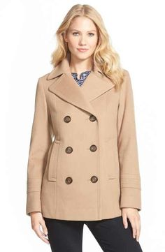32. The peacoat  Pictured: Fleurette Wool Peacoat (Nordstrom)