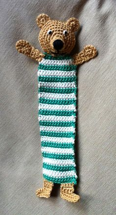 Ravelry: Teddy Bookmark by Kerstin Batz