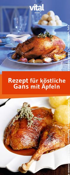 Köstliche Gans mit Äpfeln - Fashion and Recipes Ground Beef And Cabbage, Chicken And Cabbage, Dinner With Ground Beef, Broccoli With Garlic Sauce, Chinese Cooking Wine, Asian Beef, Cabbage Recipes, Morning Food, Vegan Dishes