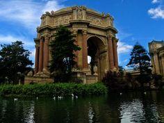 Palace of Fine Arts, San Francisco.  Photo by Ruth Denton