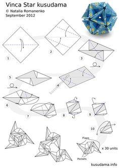 tuto origami lizard