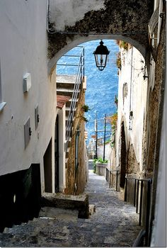Stairs and pathways. Love them, embrace them, let them work off your pasta!    Praiano, Amalfi Coast