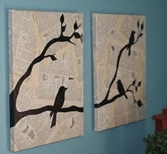 Some Easy and Nice DIY Newspaper Wall Hangings and Décor Craft Ideas - Diy Craft Ideas & Gardening