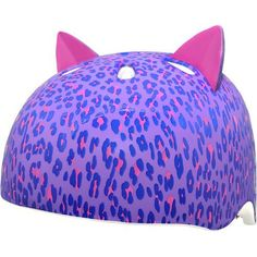 Krash Kids' Leopard Kitty Helmet